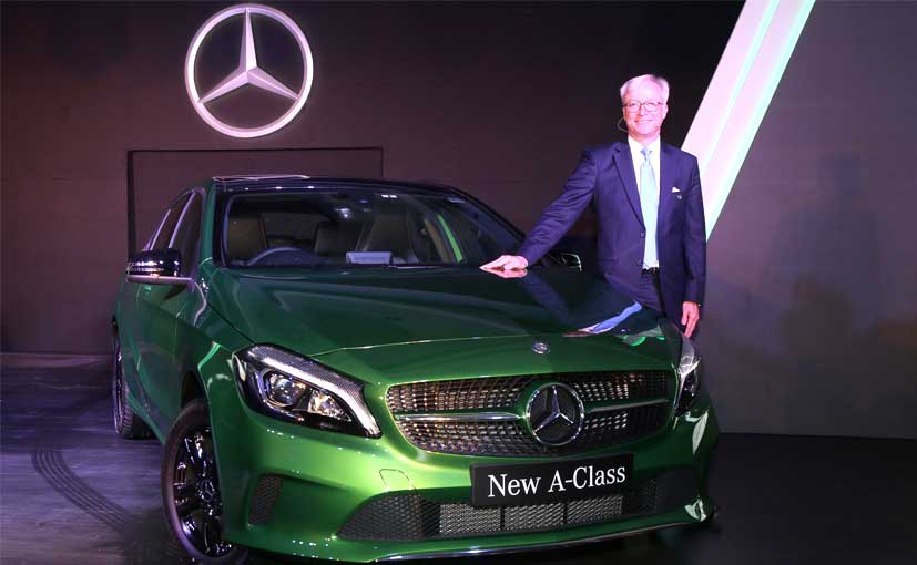 New mercedes benz a class launched in india prices start for Mercedes benz prices in india