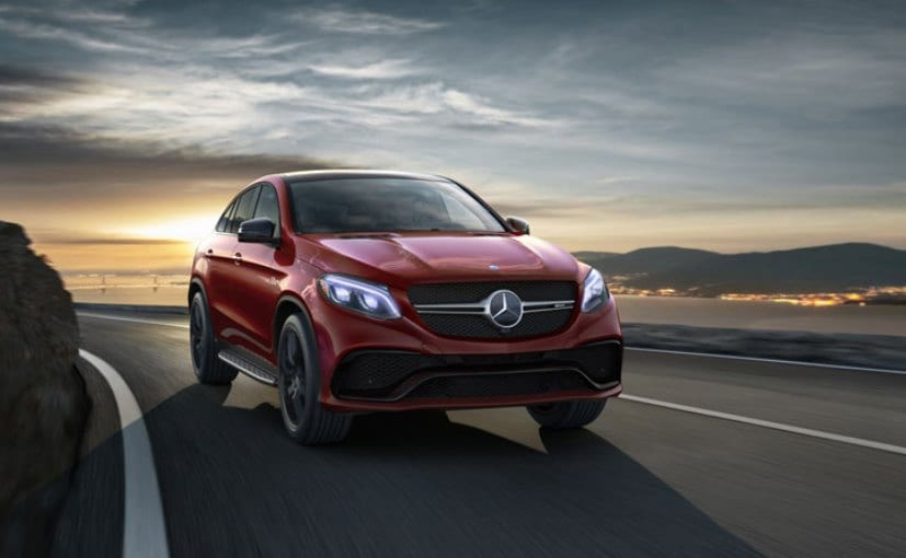 Mercedes-Benz GLE 450 AMG Coupe to Be Launched in India Today