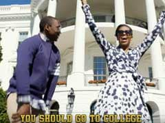 FLOTUS On The Track: Michelle Obama Makes Rap Video For College Campaign