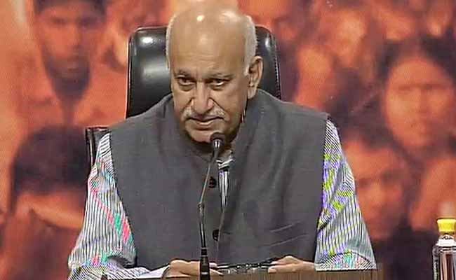 Current Atmosphere In Kashmir Not Permanent, Says MJ Akbar
