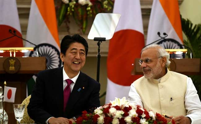 Japanese PM Shinzo Abe and our PM Modi to discuss security ties