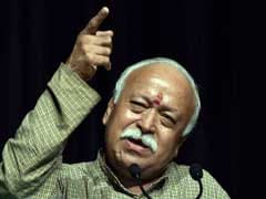 'Work Of RSS Is A Continuous Process', Says Mohan Bhagwat