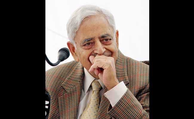 Leaders Pay Tribute To Jammu and Kashmir Chief Minister Mufti Mohammad Sayeed
