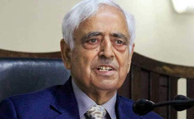 Mufti Mohammad Sayeed Put On Ventilator Support