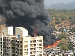 2 Dead, 1000 Homes Destroyed In Mumbai Fire, Cylinder Blasts Heard