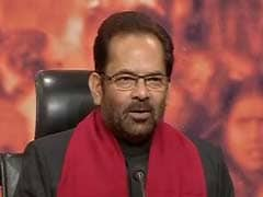 Harmony Is An Indispensable Part Of Secularism In India: Mukhtar Abbas Naqvi