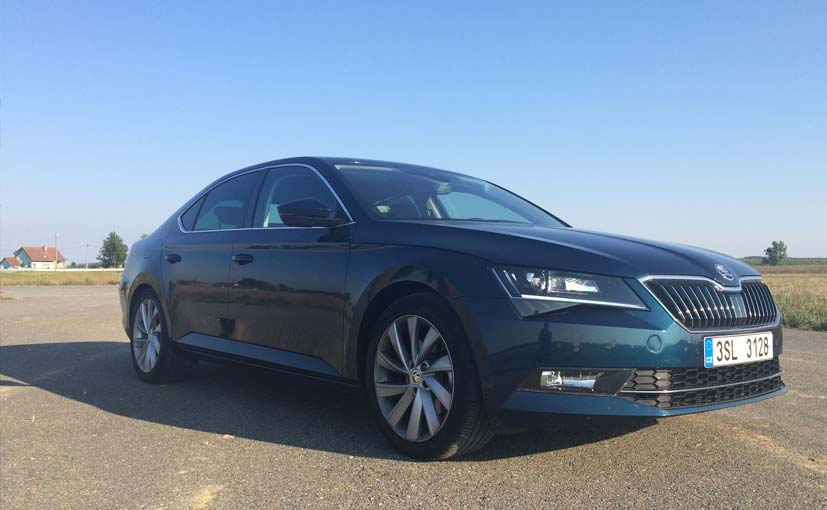 Skoda superb to launch on february 23 2016 ndtv carandbike