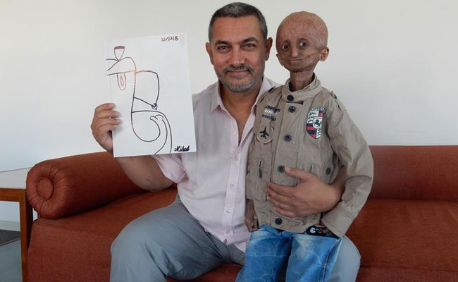 Aamir Khan Meets Fan With Progeria, Leaves Him 'Optimistic'