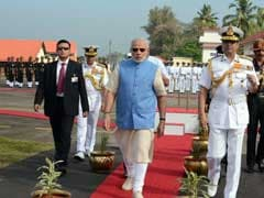 PM Modi Presides Over Commanders' Conference Aboard INS Vikramaditya