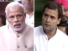 PM Modi Talks Unity in One House, Targeted by Rahul Gandhi in Another