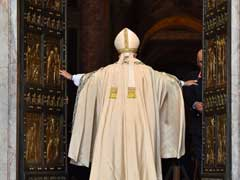 Pope Francis Opens St Peter's Holy Door To Launch Catholic Jubilee