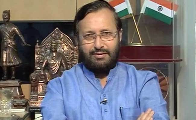 Congress 'Politicising' Pathankot Terror Attack: Prakash Javadekar