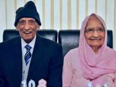 Punjabi Couple Celebrate 90th Wedding Anniversary In UK
