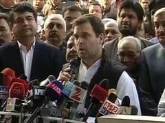 'Modi Ji Falsely Accusing Us. Congress And I Won't Bow Down': Rahul Gandhi