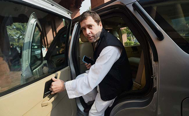 Rahul Gandhi May Take Over As Congress President Soon After Europe Tour