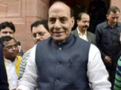 Rajnath Singh Attacks Congress For 'Taking Parliament Into Hostage'