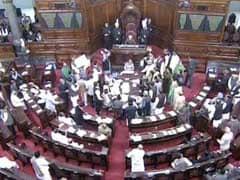 Congress Protests Lead Rajya Sabha to Adjourn Twice