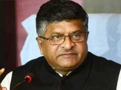 Union Minister Ravi Shankar Prasad To Address Harvard India Meet