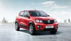 Renault Kwid 1.0-Litre Version Shipped Overseas for R&D