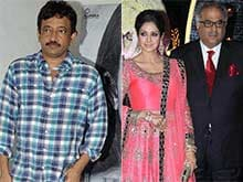 Read Sridevi Chapter Before Spewing Venom: Ram Gopal Varma to Boney Kapoor