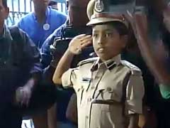 Thalassemic Boy's Dream Of Becoming Top Cop Comes True