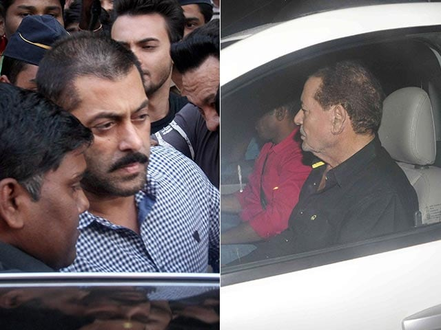 Salman's Father Salim Khan Says Rs 25 Cr Was Spent on Defence