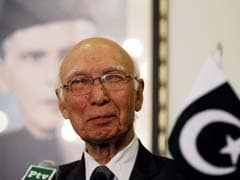 India Never Opened A Window Of Opportunity For Talks: Sartaj Aziz