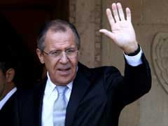 Russian Foreign Minister Sergei Lavrov Insists Syria Peace Talks 'Not Frozen'