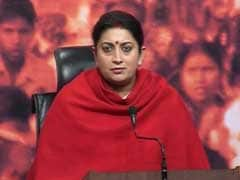 Rahul Gandhi Using Students As Political Tools: Smriti Irani