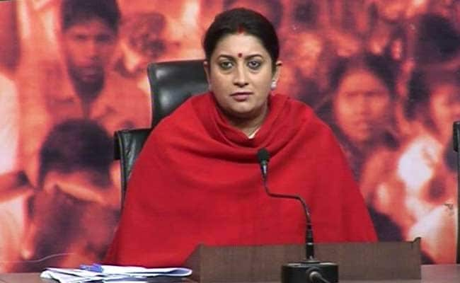 Prejudice Against Women Scientists Exists: Smriti Irani