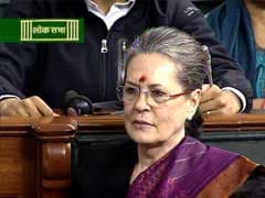 Birthday Wishes For Sonia Gandhi As Government Firefights In Parliament