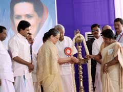 Kerala BJP Alleges Protocol Violation In Sonia Gandhi's Programme