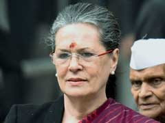 Sonia Gandhi Pays Homage To Dr BR Ambedkar