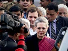 After 5-Minute Hearing, Sonia And Rahul Gandhi's Show Of Strength