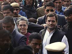 'We Are Not Afraid, Will Continue Fight,' Says Sonia After Getting Bail In National Herald Case