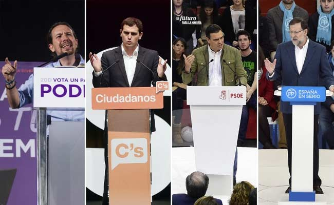 Polls Open In Tight General Election In Spain