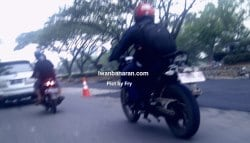 India-Bound TVS Apache 200 Spotted Testing in Indonesia