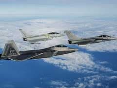 What Happens When The Most Advanced Fighter Jets In The U.S., France And Britain Prepare For War