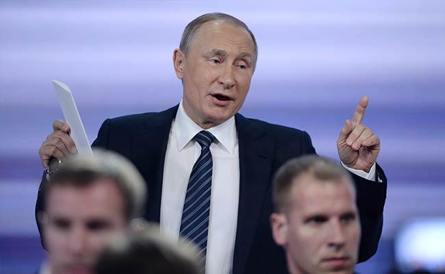 Putin Says Trump Is 'Absolute Leader' In US Presidential Race