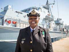 South Africa's First Black Woman Naval Commander Calls The Shots