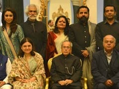 President Mukherjee Hosts Lunch For 100 Women Achievers