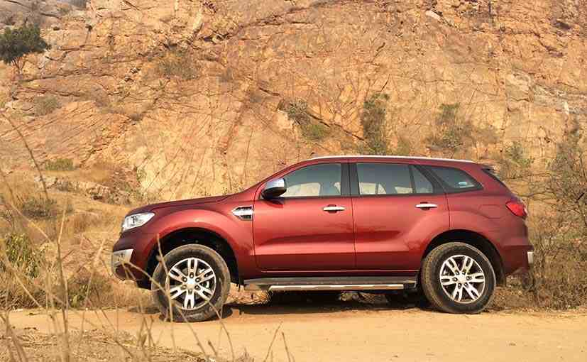 2016 Ford Endeavour Review Ndtv Carandbike