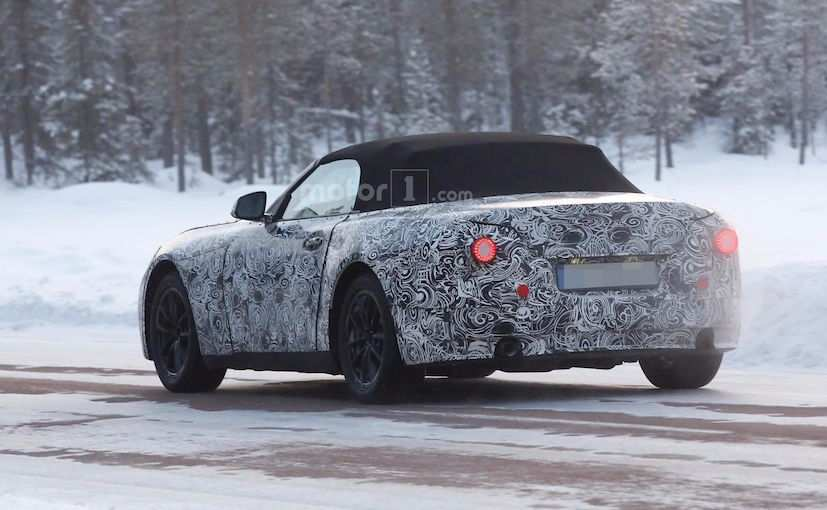 2018 BMW Z5 Caught Testing for the First Time - NDTV CarAndBike