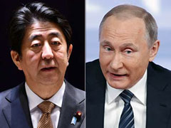 Japanese PM Hopes For Peace Progress With Vladimir Putin