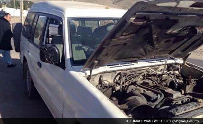 Car With Explosives Found Near Indian Consulate In Afghanistan's Herat