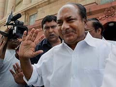 Congress Leader AK Antony Takes Oath As Rajya Sabha Member