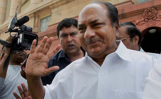 PM Should Break His Silence On Pathankot Attack: Congress Leader AK Antony