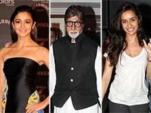 Happy New Year, Say Big B, Alia, Shraddha