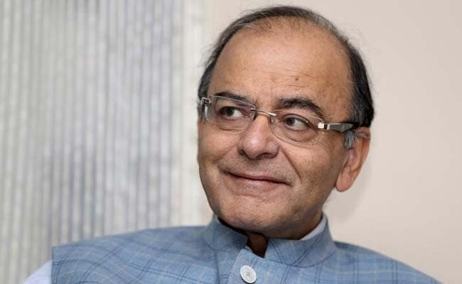 Arun Jaitley Hopeful Of GST Bill In Ensuing Budget Session