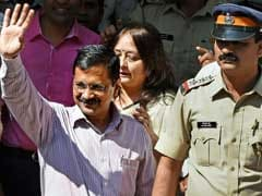 Arvind Kejriwal Attends Mumbai Court In Unauthorised Rally Case